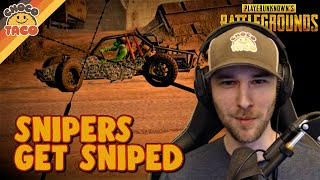 Snipers Get Sniped ft. halifax - chocoTaco PUBG Duos Gameplay