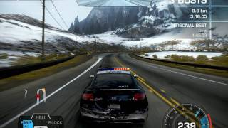 Need For Speed Hot Pursuit, Summit Assault with Audi TTRS