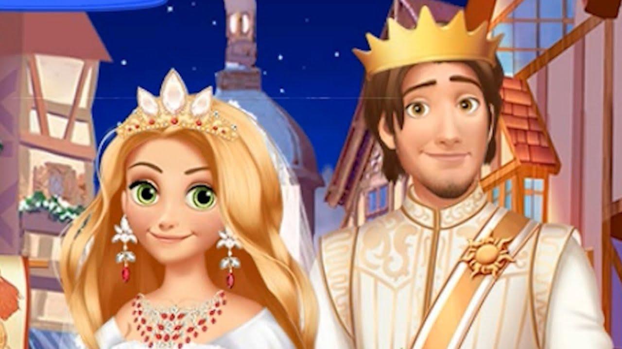 Игры история свадьба запутанная рапунцель