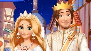 Свадьба Рапунцель / Мультфильм игра для девочек / Rapunzel wedding