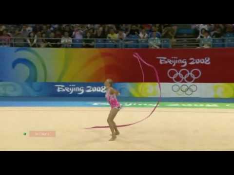 Olga Kapranova ribbon 2008 Beijing olympic games