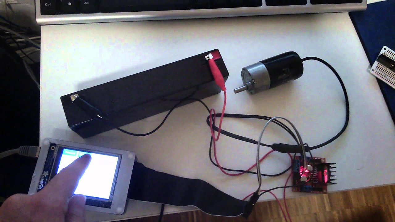 Real-time Motor and Motion Control with a Raspberry Pi