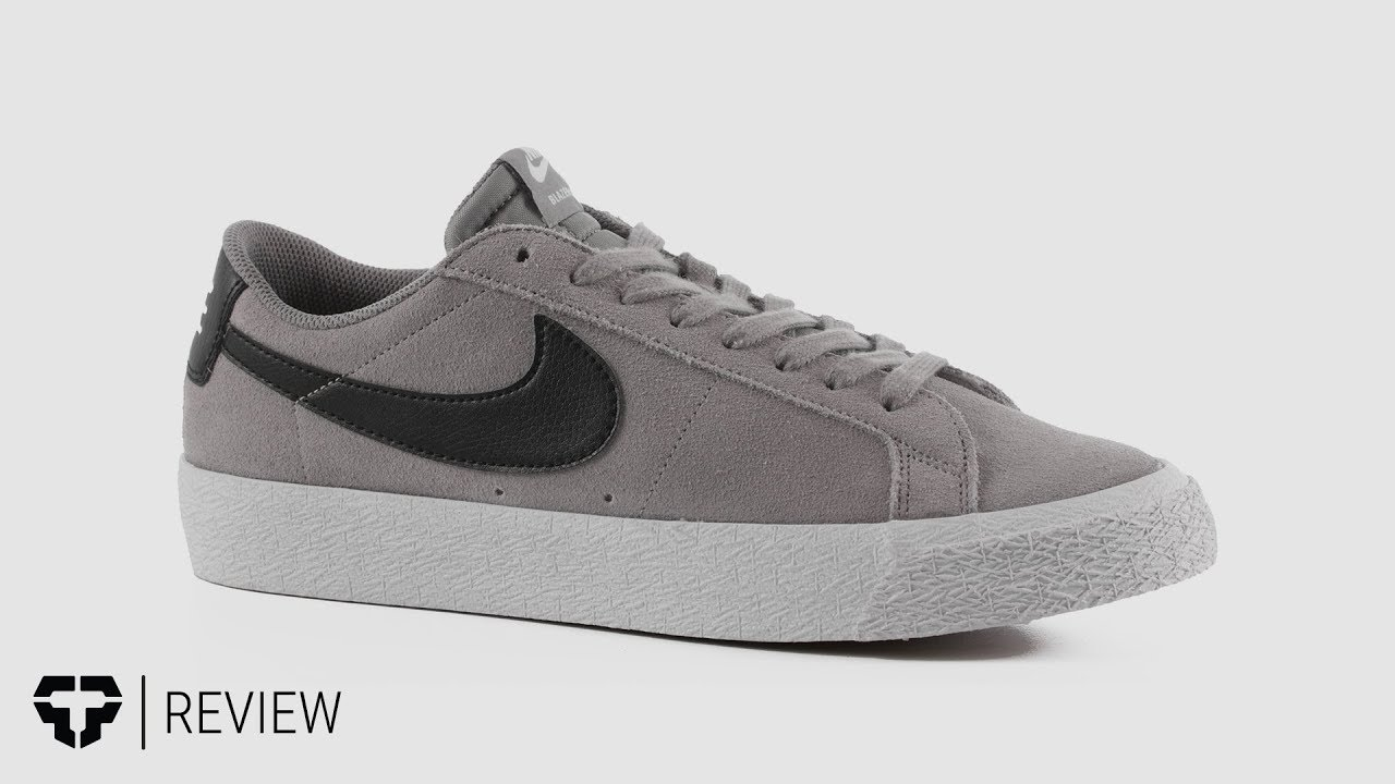 low cost 15408 bb22a Nike SB Blazer Zoom Low Skate Shoes Review - Tactics.com