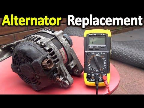 How To Replace An Alternator (Toyota Camry / Aurion / Avalon / Lexus Alternator Removal Procedure)