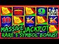 HIGH LIMIT Dragon Cash Link Golden Century MASSIVE HANDPAY JACKPOT 🐲RARE 5 SYMBOL BONUS TRIGGER SLOT