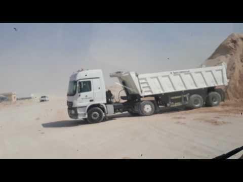Qatar ko QNCC Plant ma baluwa load gardai