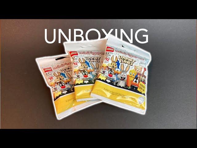 Lego Looney Tunes Minifiguren - Unboxing 1