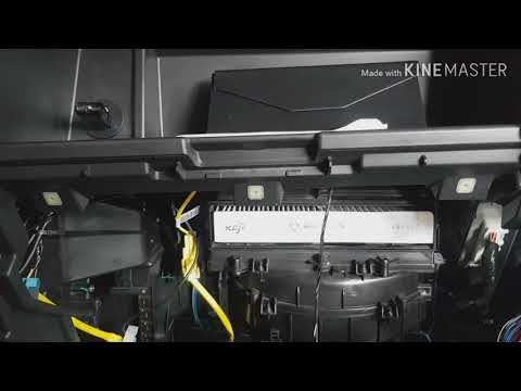 How to install a cabin/aircon filter of isuzu d-max and isuzu mu-x 2014 and up