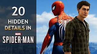 20 Amazing Hidden Details in Spider-Man PS4! (2018)