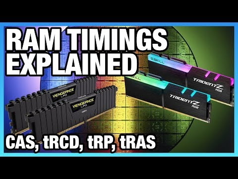 What Are Memory Timings? CAS Latency, tRCD, tRP, & tRAS (Pt 1) - YouTube