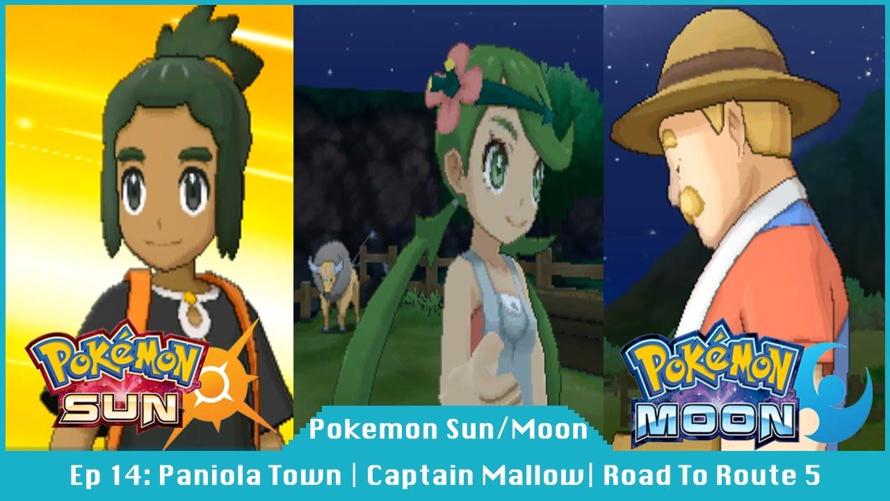 Paniola Town | Captain Mallow | Road To Route 5 - Pokemon Sun And Moon [#14]