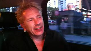 John Lydon - Johnny Rotten - on Bono and Brad Pitt