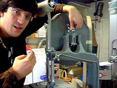 Tutorial on changing band saw blades youtube tutorial on changing band saw blades keyboard keysfo Images