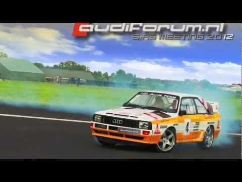 Audiforum S RS meeting 2012   Sport Quattro V8