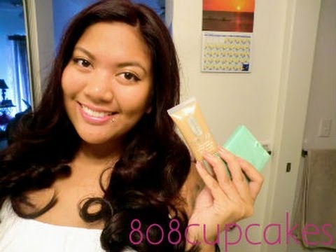 Review Clinique Stay Matte Foundation Youtube