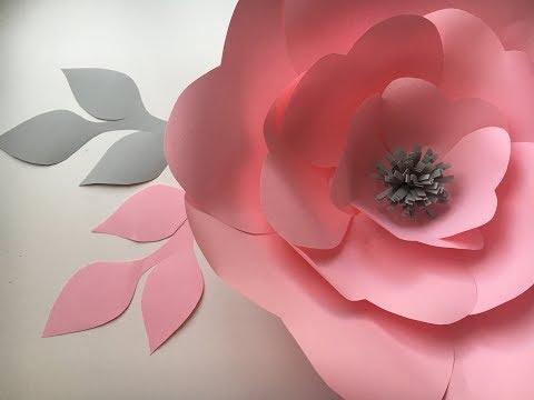 ЦВЕТЫ ИЗ БУМАГИ/Paper flowers