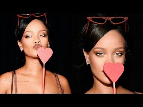 Rihanna At Her