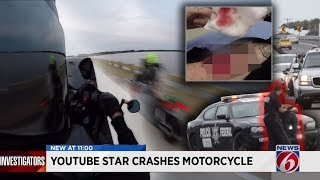 RPSTV ARRESTED?! MIRROR SMASH ON NEWS! Hit & Run! Biker crash motorcycle!
