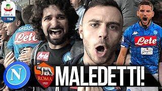MALEDETTI!!! NAPOLI 1-1 ROMA | LIVE REACTION NAPOLETANI SAN PAOLO 4K