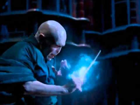 Voldemort vs dumbledore youtube for Elder wand spells