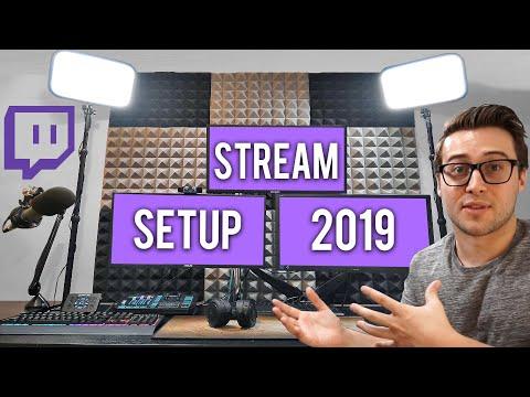 Streaming Setup 2019💻Stodeh Studio Office Tour (ALL links in description) thumbnail