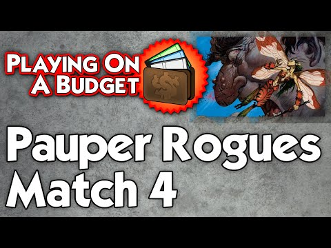 Playing on a Budget: Pauper Rogues vs Burn