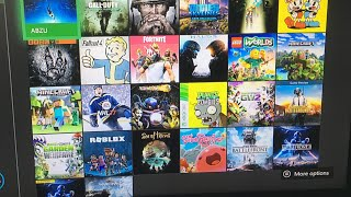 ALL Of My Xbox One Games!
