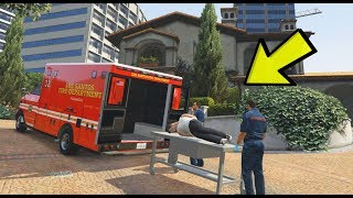 WHAT HAPPENS WHEN YOU FOLLOW THE AMBULANCES IN GTA 5?