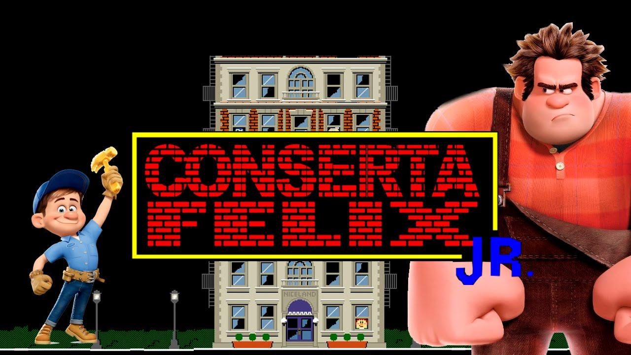 Conserta Felix Jr. – Detona Ralph