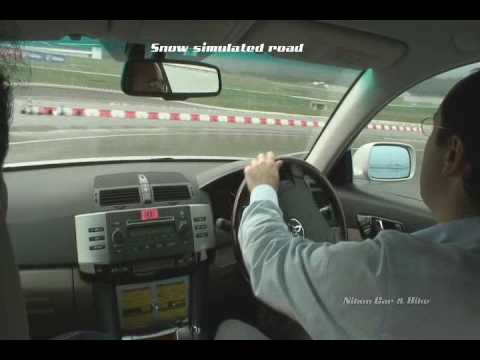 Toyota Traction Control Demonstration