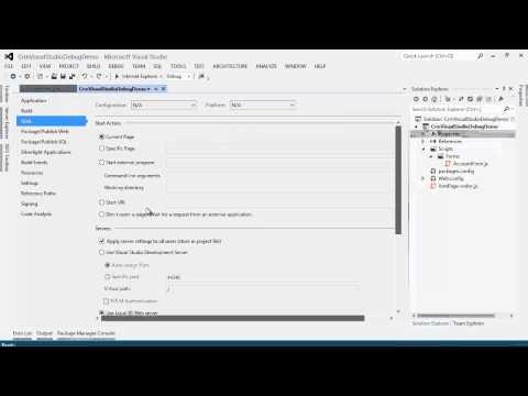 F5 debugging of CRM JavaScript web resources
