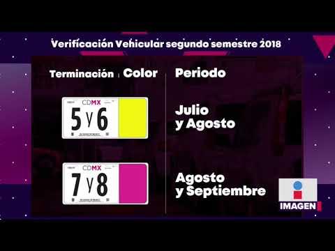 Calendario De Verificacion Fisico Mecanica 2019.Aqui Lo Que Debes Saber Para La Nueva Verificacion Vehicular