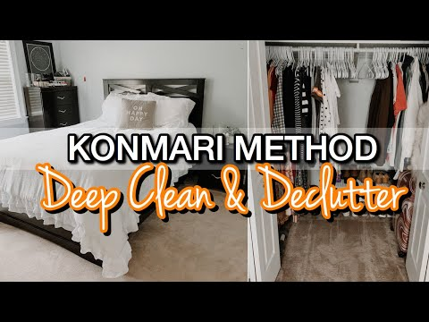 deep-clean-and-declutter- -konmari-method- -deep-cleaning-motivation- -clean-with-me-2020