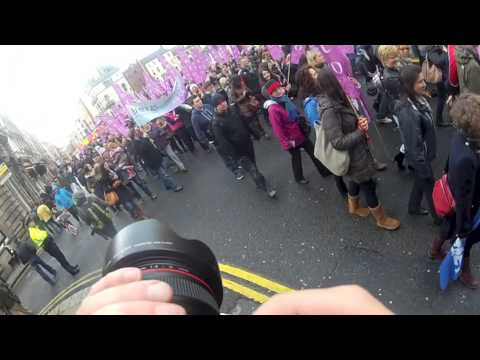 Entire Feb 9 2013 ICTU march against Debt & Austerity