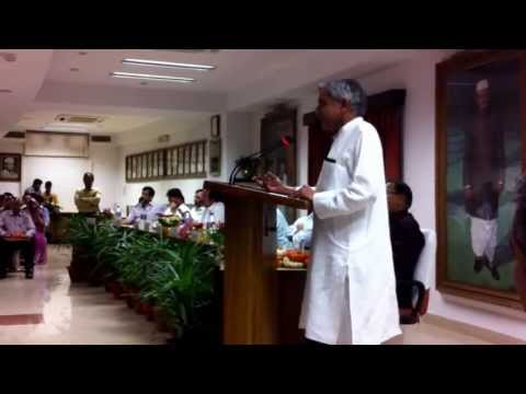 Speech by Shri Pawan Kumar Bansal Hon'ble Minister for Railways Govt of India