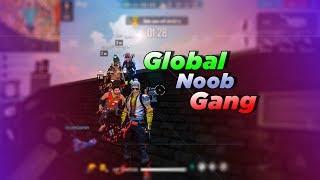 Free Fire Live Hindi [FF Live] - Global Noob Gang!!