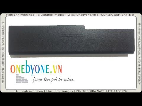 PIN LAPTOP TOSHIBA SATELLITE PA3817U-1BRS 5200mAh (Www Onebyone vn) - Pin  OEM - BATTERY PA3817U-1BRS