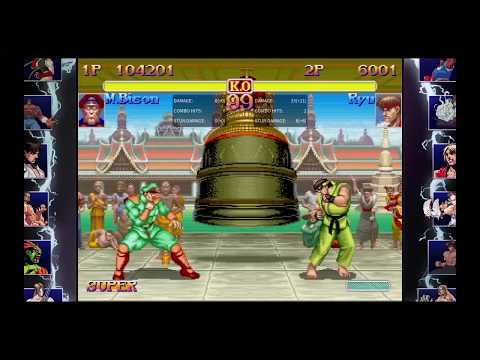 SF 30th| SF2 Turbo M.Bison Combos Mp3