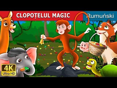 CLOPOȚELUL MAGIC   Povesti pentru copii   Romanian Fairy Tales