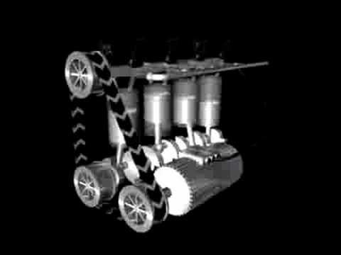4-Zylinder Verbrennungsmotor - YouTube