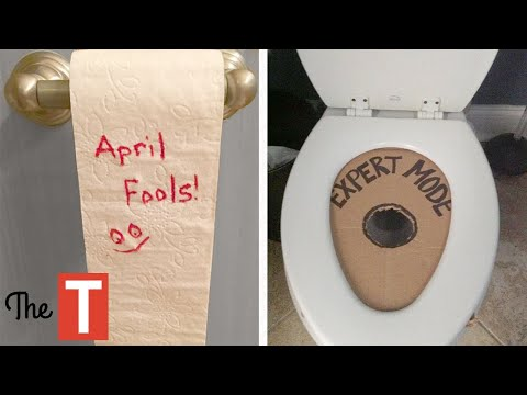 Hilarious Pranks For April Fools Day