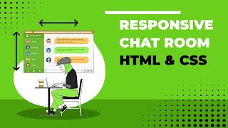 Responsive Chat Room - HTML & CSS Mp3