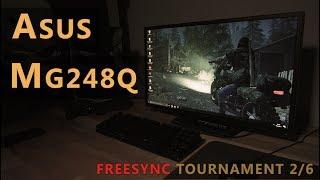 Asus MG248Q Review: Full HD 144 Hz TN Freesync Gaming Monitor