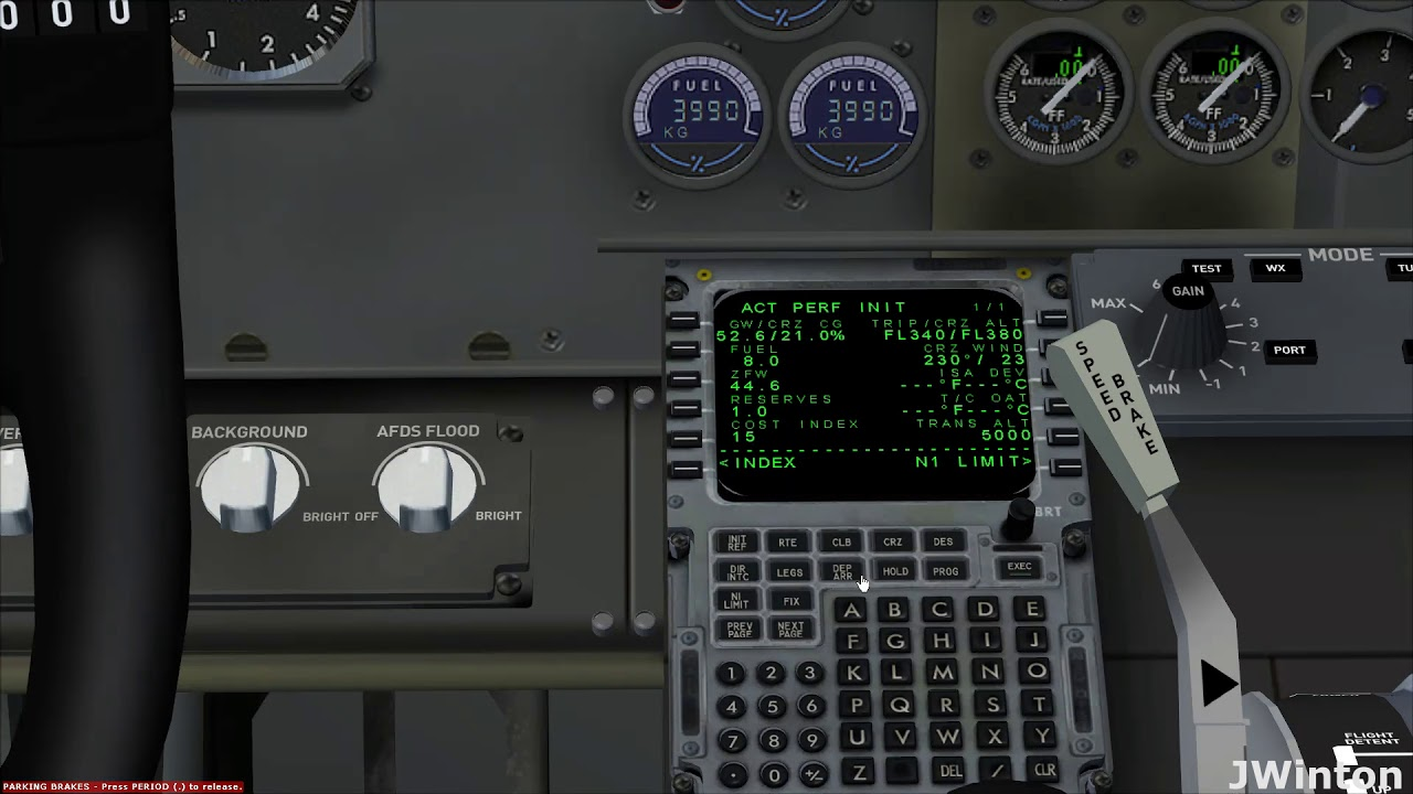 super guppy 737 classic pilot in command fms tutorial english rh youtube com FMC Tutorial PDF 737 Flight Computers