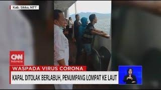 Gambar cover Kapal Ditolak Berlabuh, Penumpang Lompat ke Laut