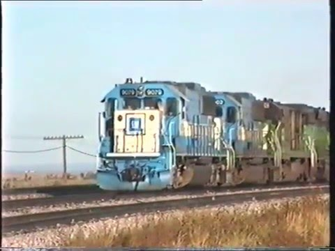 USA 1992   POWDER RIVER WYOMING PART 1