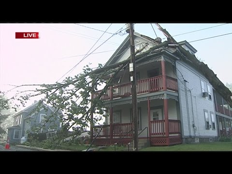 Storm damage cleanup in Orange; Still no power for some