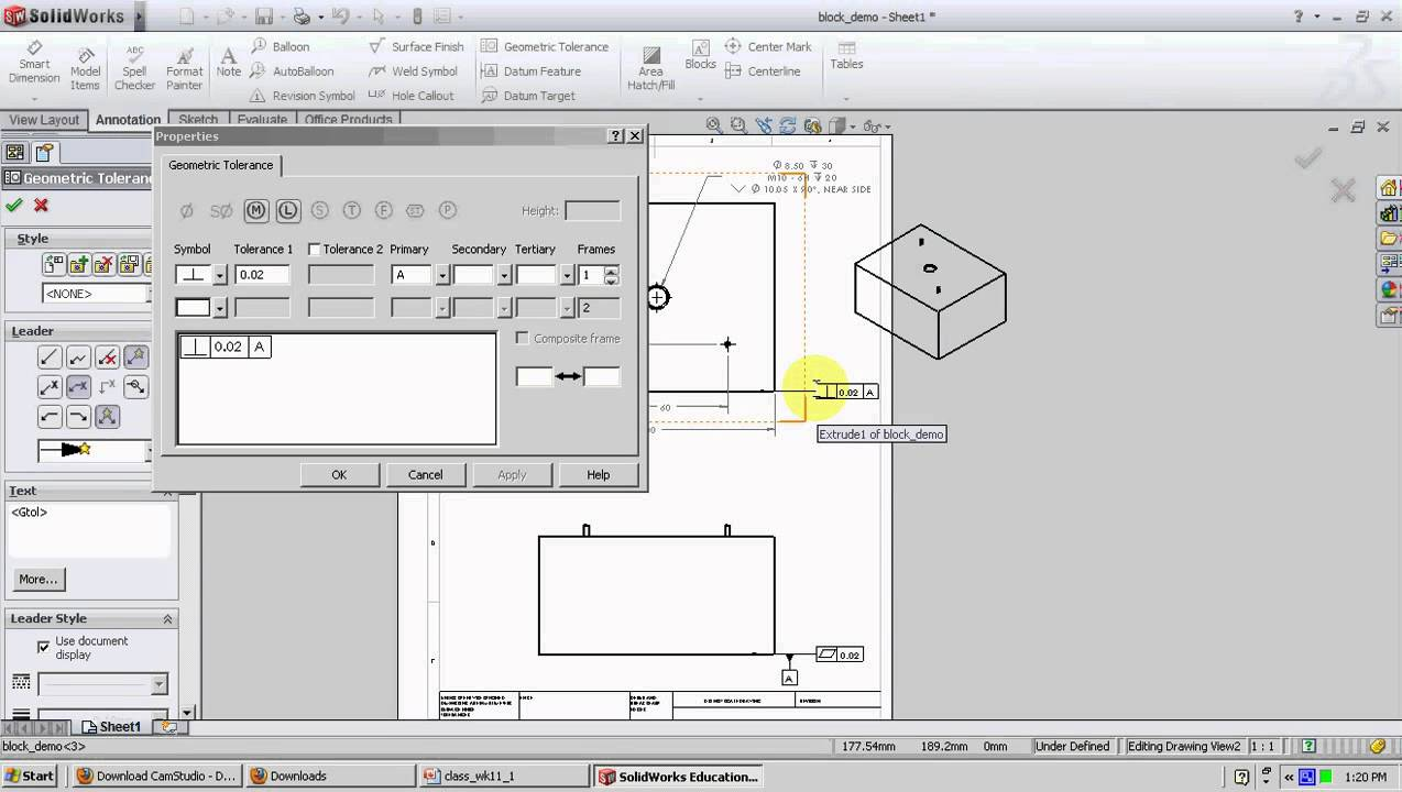 Gdt in solidworks 2 of 2 youtube gdt in solidworks 2 of 2 buycottarizona
