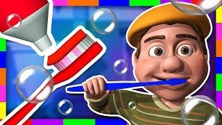 ¡Tito cepíllate los dientes! | Aprende colores en La Granja de Zenón | A Jugar thumbnail