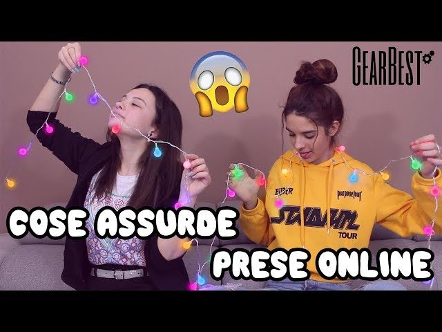 COSE ASSURDE PRESE ONLINE-GearBest| ABstract